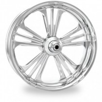 PM Icon Chrome Wheels Package Set With Tires Tires for Harley